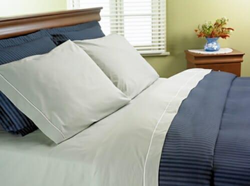 draps percale pour lit d 39 eau. Black Bedroom Furniture Sets. Home Design Ideas