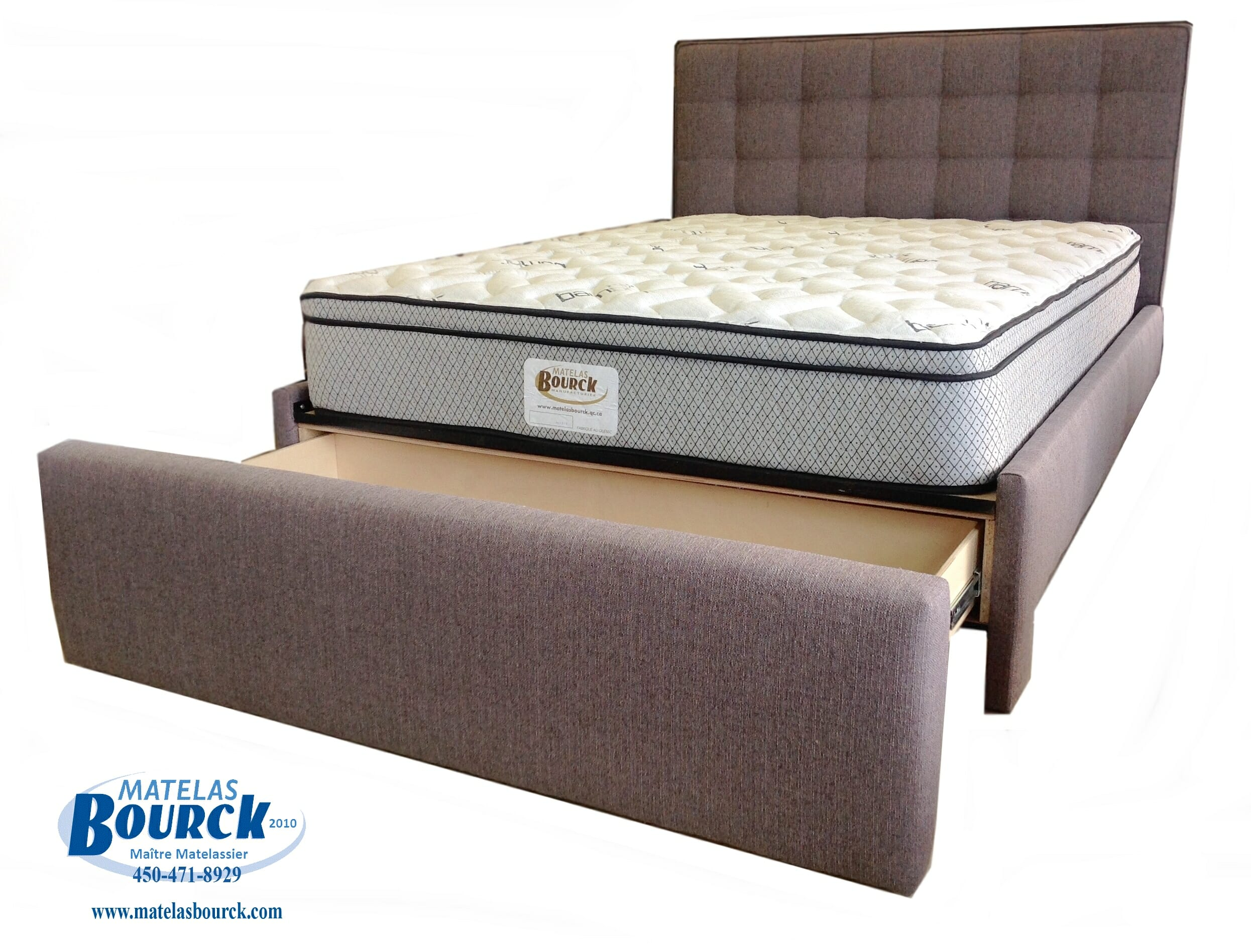 lits rembourr s matelas bourck ma tres matelassiers. Black Bedroom Furniture Sets. Home Design Ideas