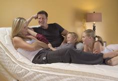 lit ajustable pour la famille