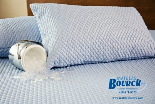 couvre matelas cool